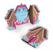 Sizzix Thinlits Die Set 11PK - Card, Gingerbread Fold-a-Long