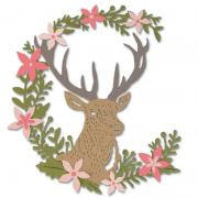 Sizzix Thinlits Die Set 5PK - Deer