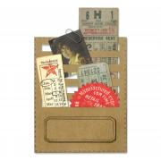 Sizzix Thinlits Die Set 2PK - Stitched Slots by Tim Holtz