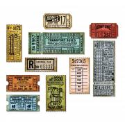 Sizzix Framelits Die Set 6PK - Ticket Booth by Tim Holtz