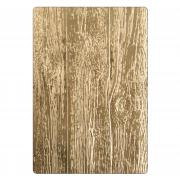 Sizzix 3-D Texture Fades Embossing Folder - Lumber by Tim Holtz
