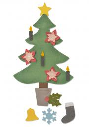 Sizzix Bigz Plus Die - Christmas Tree #2