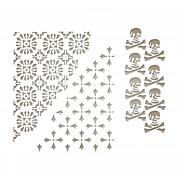 Sizzix Thinlits Die Set 3PK - Mixed Media Halloween #2 by Tim Holtz