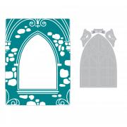 Sizzix Impresslits Embossing Folder - Wedding Window