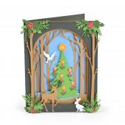 Sizzix Thinlits Die Set 20PK - Christmas Shadow Box
