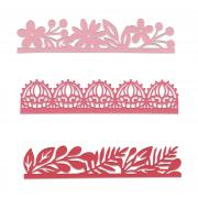 Sizzix Thinlits Die Set 3PK - Decorative Edges