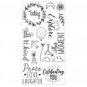 Sizzix Clear Stamps - Everyday Sentiments
