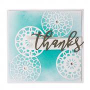 Kaleidoscope Thank You Card