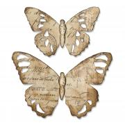 Sizzix Bigz Die - Tattered Butterfly by Tim Holtz