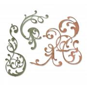 Sizzix Thinlits Die Set 3PK - Adorned by Tim Holtz