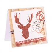 Geo Christmas Card