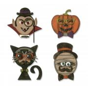 Sizzix Thinlits Die Set 10PK - Hip Haunts by Tim Holtz