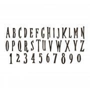Sizzix Bigz XL Alphabet Die - Handmade by Tim Holtz