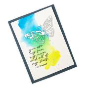 Scribbly Butterfly Card