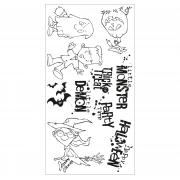 Sizzix Clear Stamps 10PK - Fright Night!