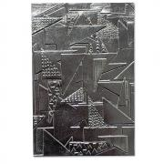 Sizzix Geometric Textured Impressions Embossing Folder