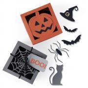 Sizzix Thinlits Die Set 12PK - Box, Spooky Silhouette