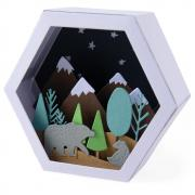 Sizzix Thinlits Die Set 28PK - Box, Winter Scene
