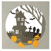 Sizzix Thinlits Die Set 8PK - Haunted Hills