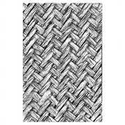 Sizzix 3-D Texture Fades Embossing Folder - Intertwine by Tim Holtz