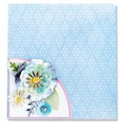 Sizzix Thinlits Die Set 12PK - Folio Page, Pocket & Flowers