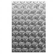 Sizzix 3-D Textured Impressions Embossing Folder - Pinwheel