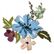 Sizzix Thinlits Die Set 8PK - Brushstroke Flowers #2 by Tim Holtz
