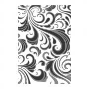 Sizzix Texture Fades Multi-Level Embossing Folder - Swirls by Tim Holtz