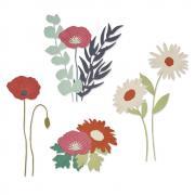 Sizzix Thinlits Die Set 16PK - Wild Blooms #2