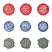 Sizzix Switchlits Embossing Folder - Seasonal Seals