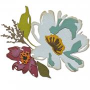 Sizzix Thinlits Die Set 5PK - Brushstroke Flowers #3 by Tim Holtz