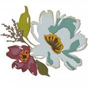 Sizzix Thinlits Die Set 5PK - Brushstroke Flowers #3 by Tim Holtz
