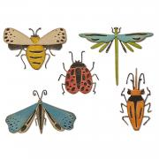 Sizzix Thinlits Die Set 5PK - Funky Insects by Tim Holtz
