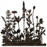 Sizzix Thinlits Die - Flower Field by Tim Holtz