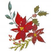 Sizzix Thinlits Die Set 6PK - Festive Bouquet by Tim Holtz
