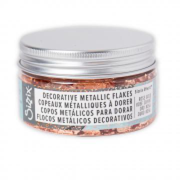 Sizzix Effectz Metallic Flakes Rose Gold