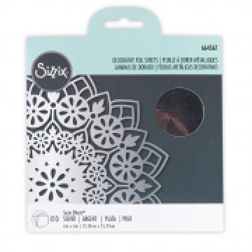 Sizzix Effectz Decorative Foil Sheets Silver