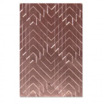 Sizzix 3D embossing folder Staggered Chevrons*