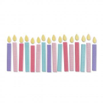 Sizzix Birthday Candles *