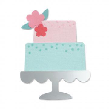 Sizzix Celebration Cake Bigz die *