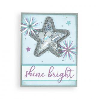 Jeweled Snowflakes Card