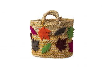 Autumnal Leaves Basket