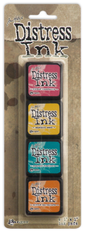 Ranger Mini Distress Pad Kit #1 - Tim Holtz
