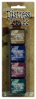 Ranger Mini Distress Pad Kit #12 - Tim Holtz