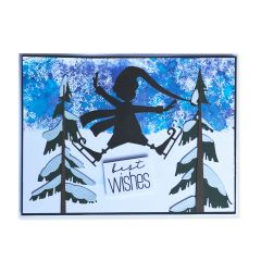 Thin Ice Skater Card