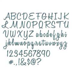 "Sizzix Thinlits Die Set 69PK - Alphanumeric, Script (1"" Tall) by Tim Holtz"