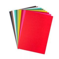 Sizzix Surfacez -10 Festive colored Cardstock 60PK