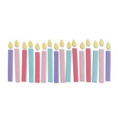 Sizzix Thinlits Die - Birthday Candles