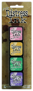 Ranger Mini Distress Pad Kit #4 - Tim Holtz