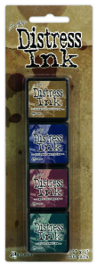 Ranger Mini Distress Pad Kit #12 - Tim Holtz